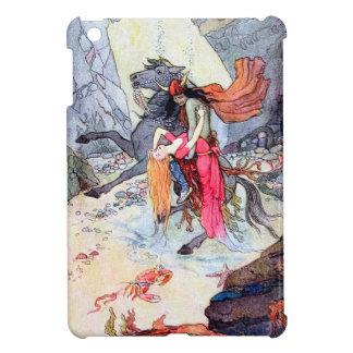 Undersea Rescue Vintage Fantasy Art Cover For The iPad Mini
