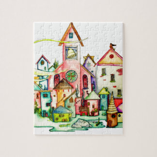 Undersea Village Jigsaw Puzzle