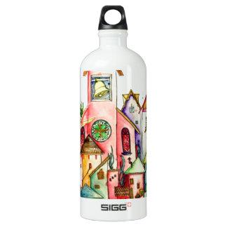 Undersea Village Water Bottle