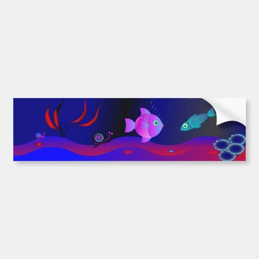 Undersea World 6 Bumper Sticker