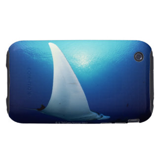 Underside of a manta ray tough iPhone 3 case