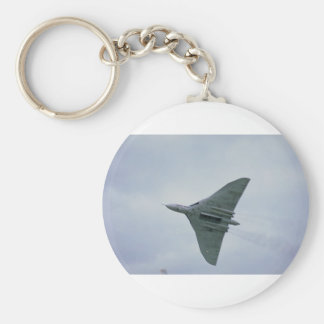 Underside of Vulcan bomber, with bomb doors open Basic Round Button Keychain