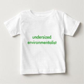 undersized environmentalist infant t-shirt