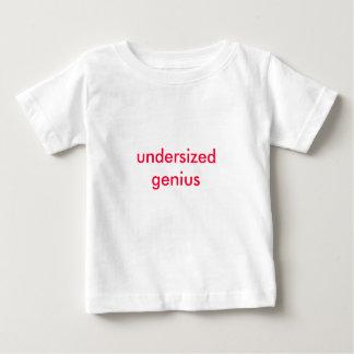 undersized genius tee shirt