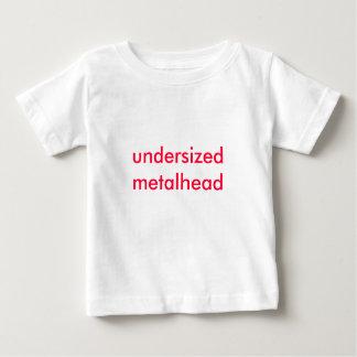 undersized metalhead shirt