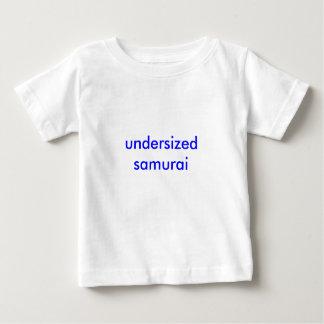 undersized samurai t-shirt