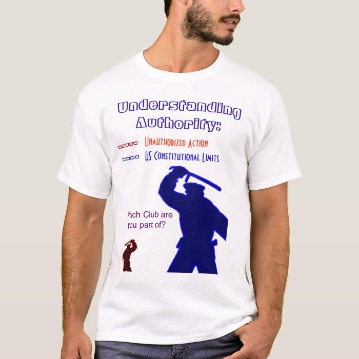 Understanding Authority T-Shirt