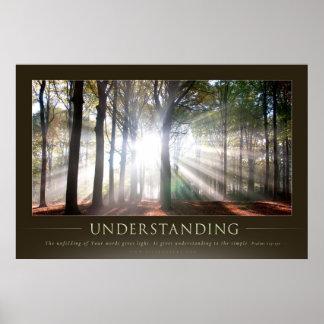 UNDERSTANDING - Christian Motivational Posters