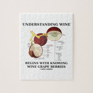 Understanding Wine Begins With Knowing Wine Grape Jigsaw Puzzle