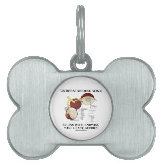Understanding Wine Begins With Knowing Wine Grape Pet Name Tag