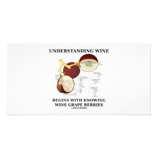 Understanding Wine Begins With Knowing Wine Grape Photo Card