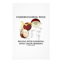 Understanding Wine Begins With Knowing Wine Grape Stationery