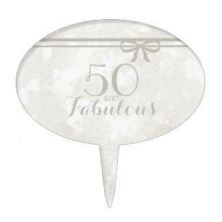50 And Fabulous Cake Toppers Zazzle