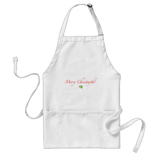 (Understated) Merry Christmyth! Apron