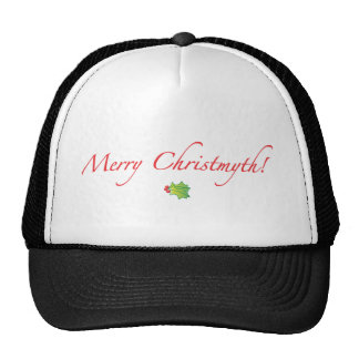 (Understated) Merry Christmyth! Trucker Hat