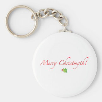 (Understated) Merry Christmyth! Keychain