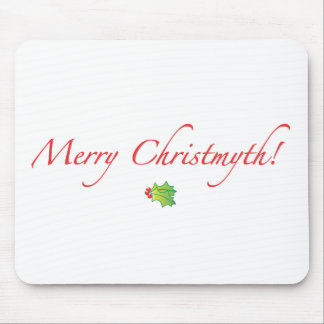 (Understated) Merry Christmyth! Mousepad