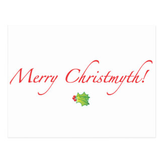 (Understated) Merry Christmyth! Postcard