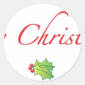 (Understated) Merry Christmyth! Round Sticker
