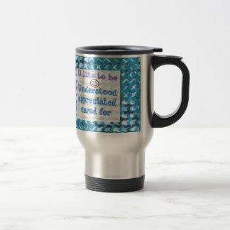 Understood,APPRECIATED, Cared  WISDOM LOWPRICE Coffee Mugs