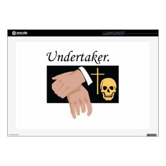 "Undertaker 17"" Laptop Decal"