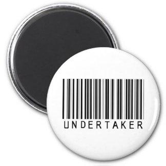 Undertaker Bar Code Magnet