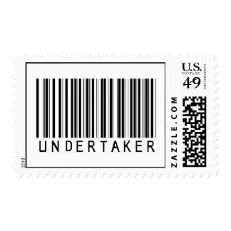 Undertaker Bar Code Postage