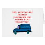 undertaker joke greeting cards
