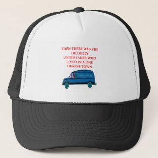 undertaker joke trucker hat