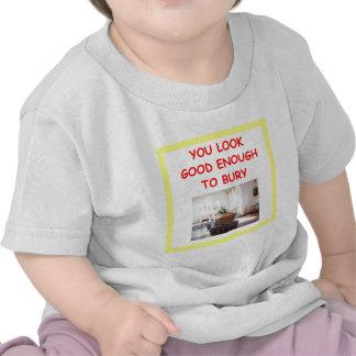 undertaker joke tshirt