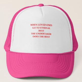 UNDERTAKER TRUCKER HAT