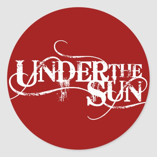 UnderTheSun - Sticker RED