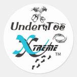 UnderToe Sticker- Customized