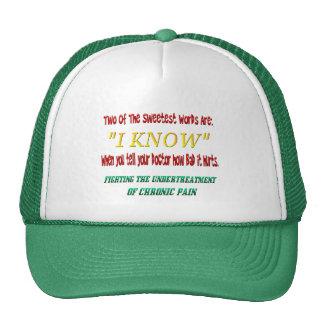 Undertreatment del gorra del dolor