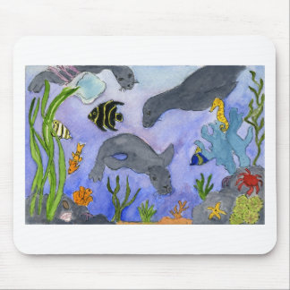 Underwater 2 mouse pads