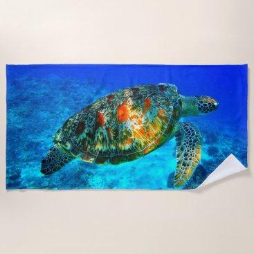 Underwater 30 Beach Towel