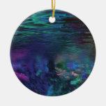 Underwater Abstract Art Enfeite De Natal
