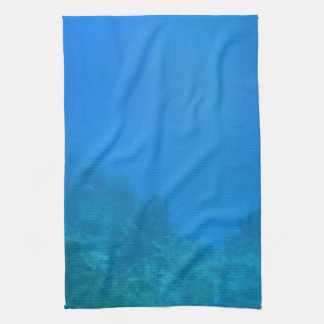 Underwater Background Scene Towel