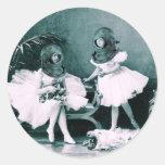 Underwater Ballet Classic Round Sticker