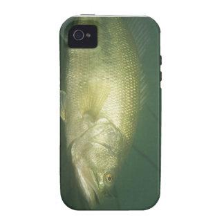 underwater bass fishing scene vibe iPhone 4 cover