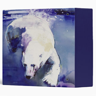 Underwater Bear 1999 3 Ring Binder