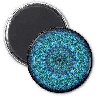 Underwater Beauty kaleidoscope Magnet