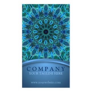 Underwater Beauty Mandala Double-Sided Standard Business Cards (Pack Of 100)