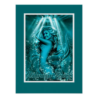 Underwater Beauty Poster