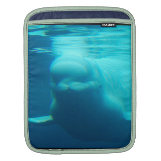 Underwater Beluga Whale iPad Sleeve