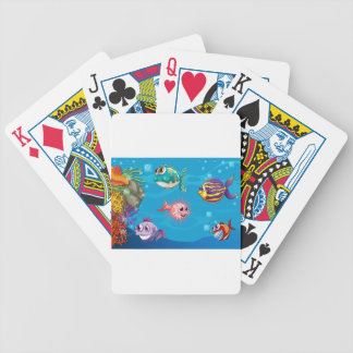 Underwater Bicycle Playing Cards