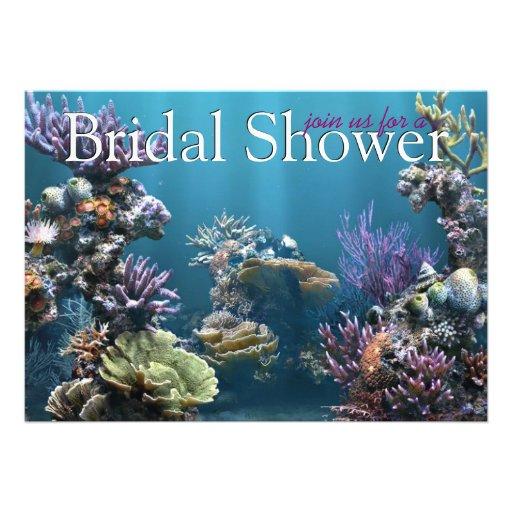 Underwater Bridal Shower Invitations