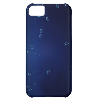 Underwater bubbles cover for iPhone 5C