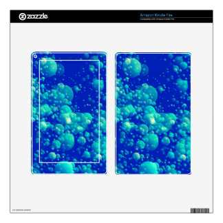 UNDERWATER BUBBLES ~ DECAL FOR KINDLE FIRE