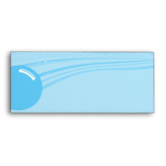 Underwater Bubbles in Blue Envelope